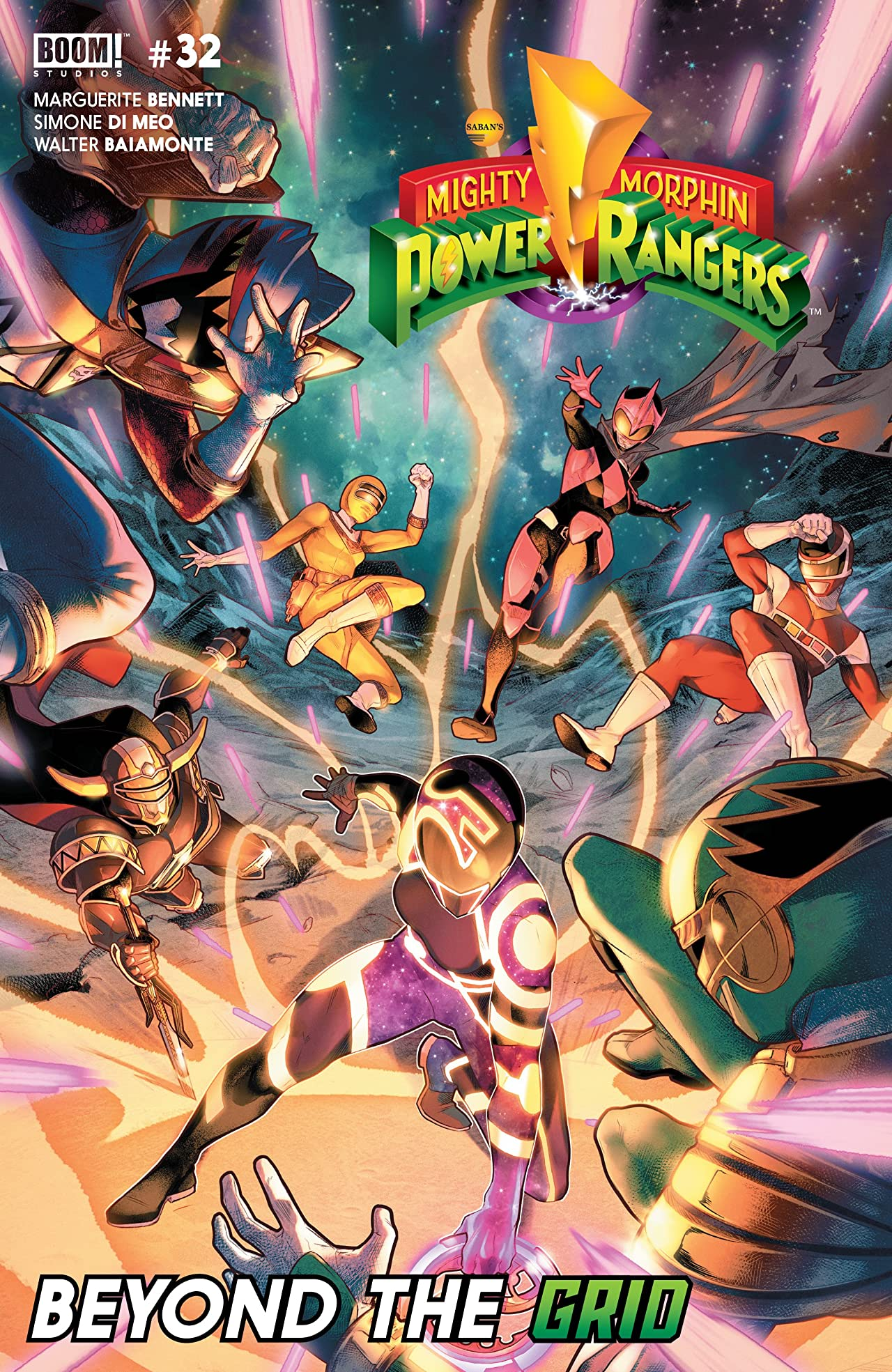 Mighty Morphin Power Rangers No.32