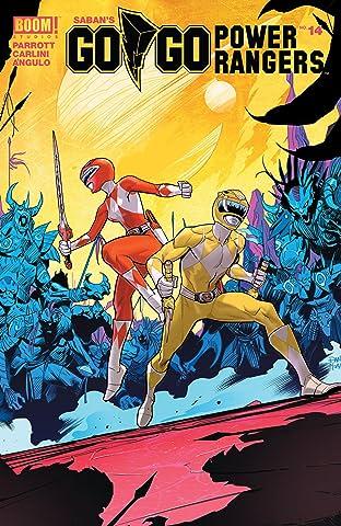 Saban's Go Go Power Rangers No.14
