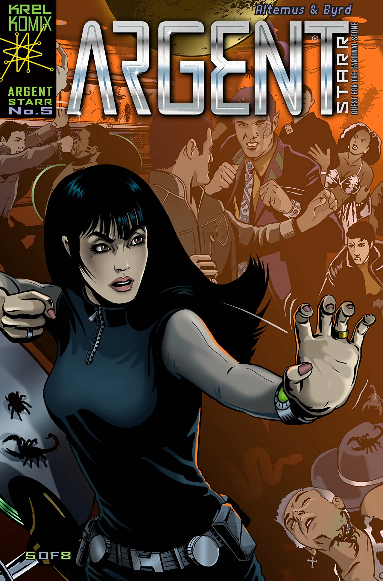 Argent Starr - Quest For The Cardinal Stone #5