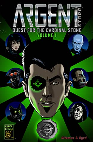 Argent Starr - Quest For The Cardinal Stone Tome 1