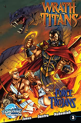Wrath of the Titans: Force of Trojans #3 (of 4)