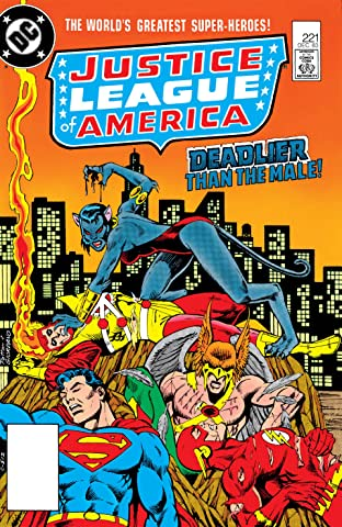 Justice League of America (1960-1987) #221