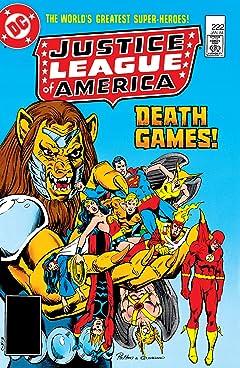 Justice League of America (1960-1987) No.222
