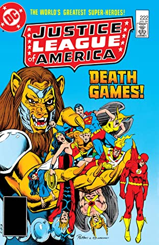 Justice League of America (1960-1987) #222