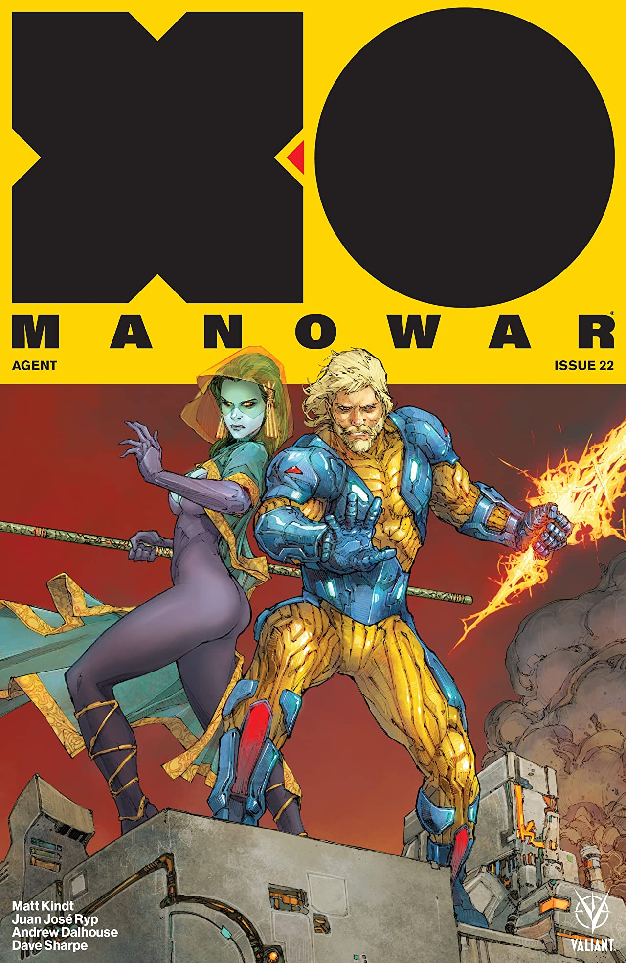 X-O Manowar (2017) No.22