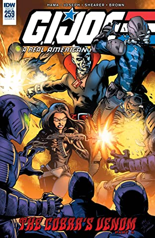 G.I. Joe: A Real American Hero #259