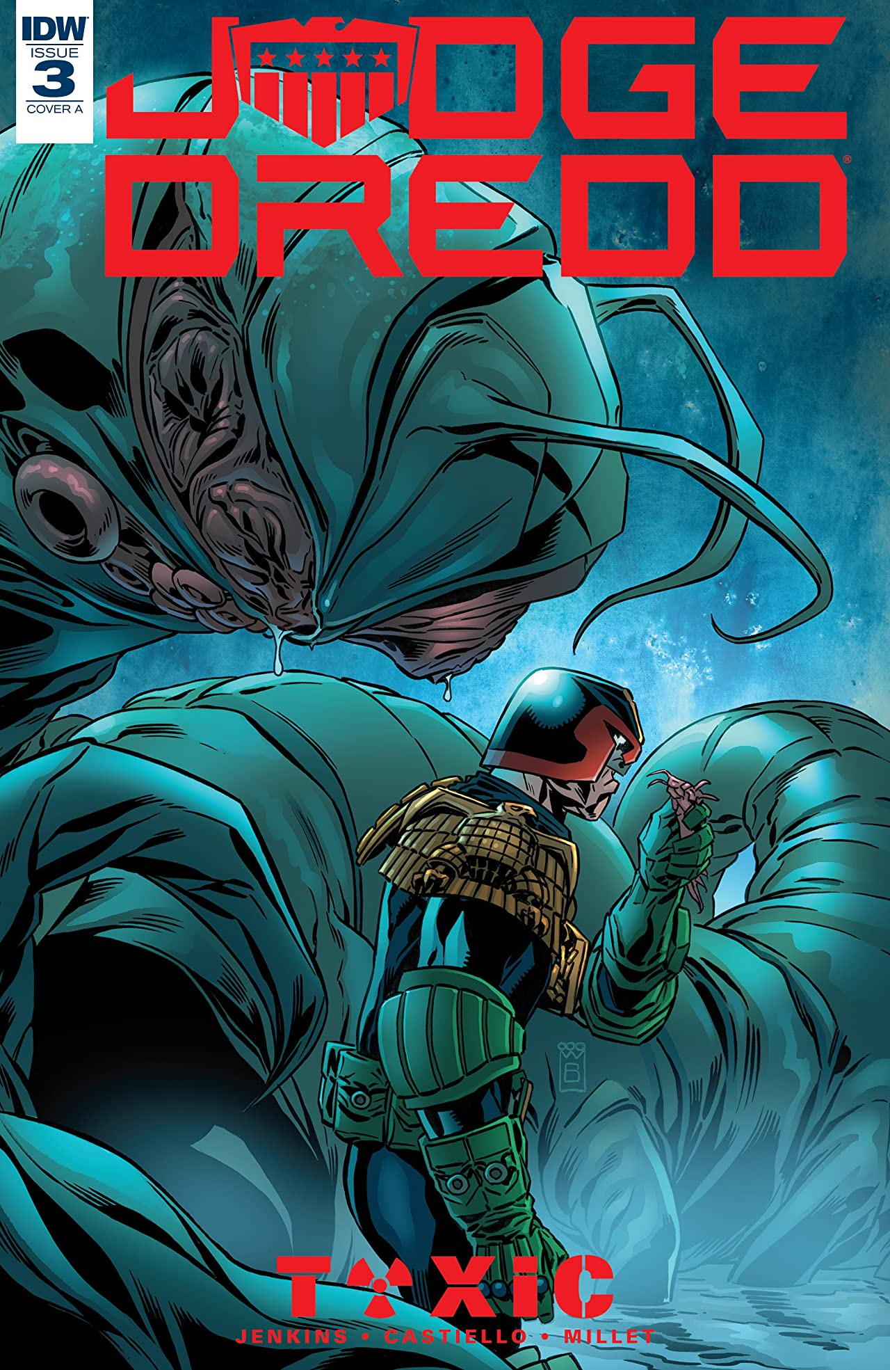 Judge Dredd: Toxic! No.3