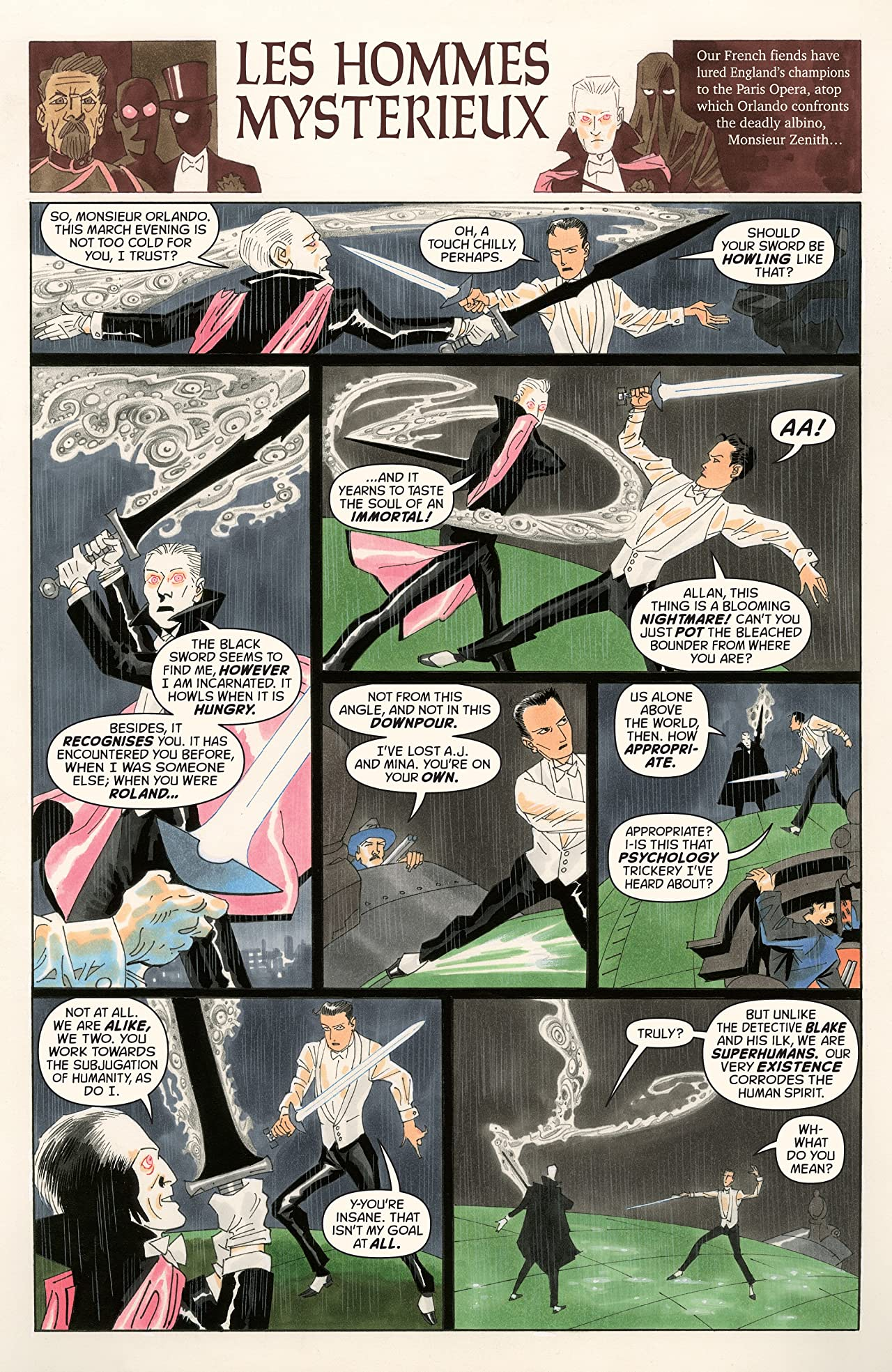 The League of Extraordinary Gentlemen: The Tempest #4 (of 6)