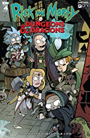 Rick and Morty vs. Dungeons & Dragons No.4 (sur 4)