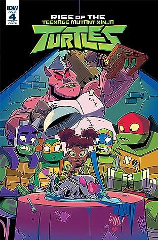 Teenage Mutant Ninja Turtles: Rise of the TMNT #4