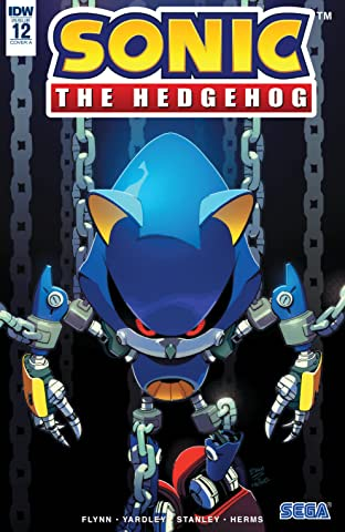 Sonic The Hedgehog (2018-) No.12