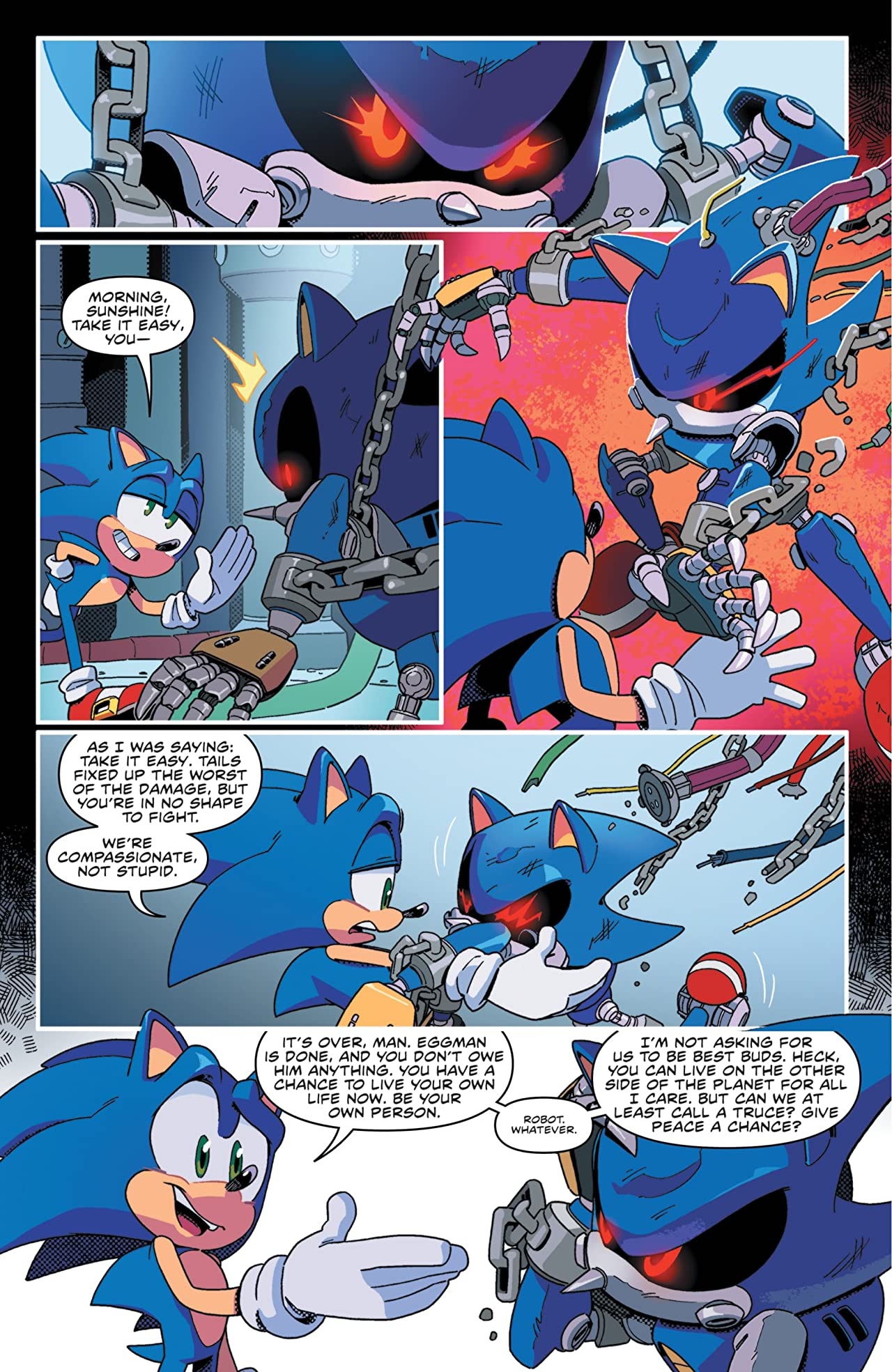 Sonic The Hedgehog (2018-) #12