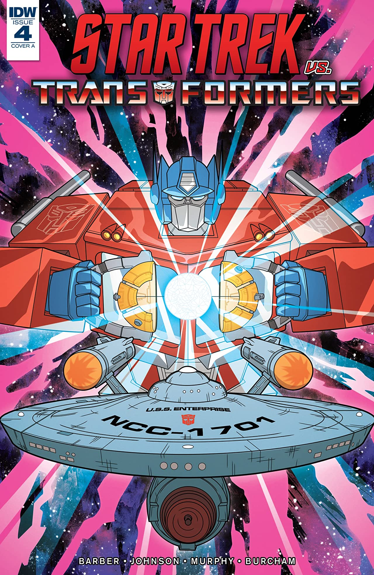 Star Trek vs. Transformers No.4 (sur 5)