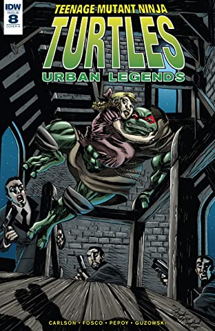 Teenage Mutant Ninja Turtles: Urban Legends #8