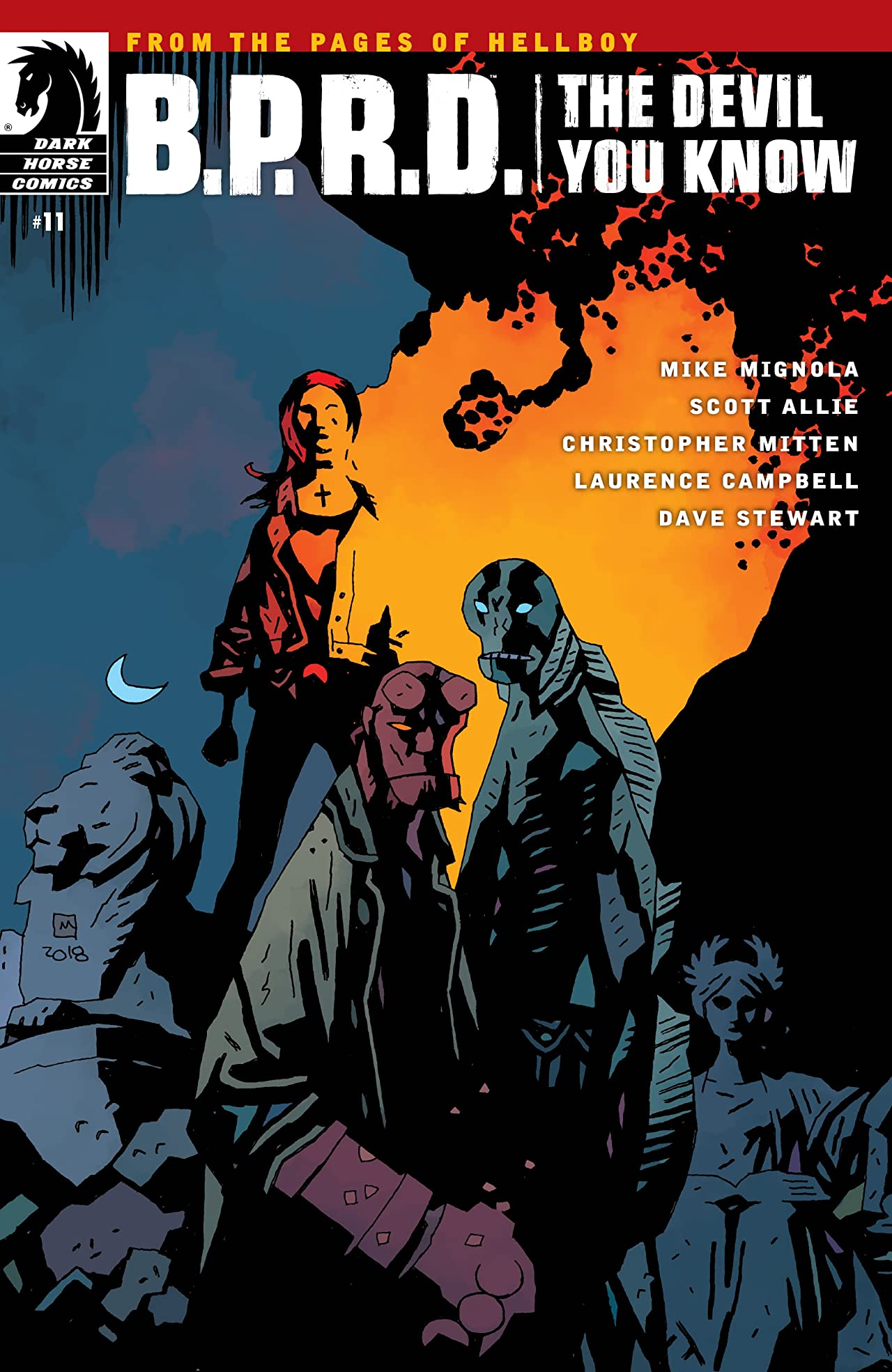 B.P.R.D.: The Devil You Know #11