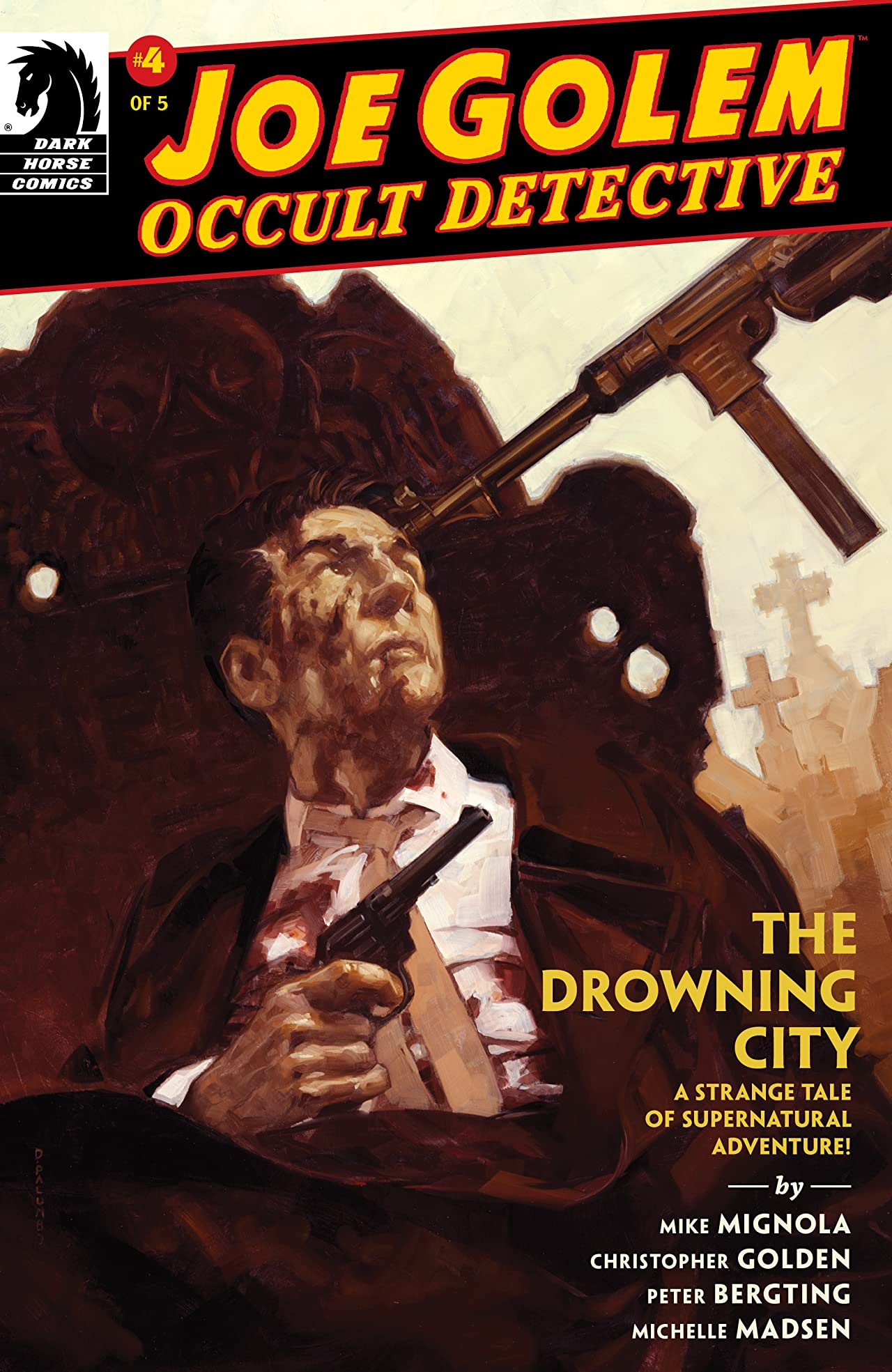 Joe Golem: Occult Detective--The Drowning City #4