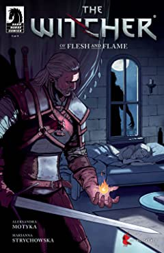 Witcher: Of Flesh and Flame No.1