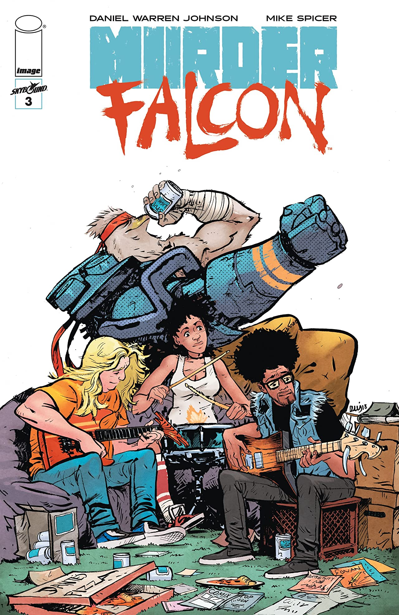Murder Falcon No.3