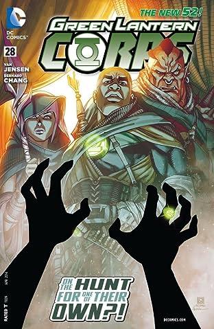 Green Lantern Corps (2011-2015) #28