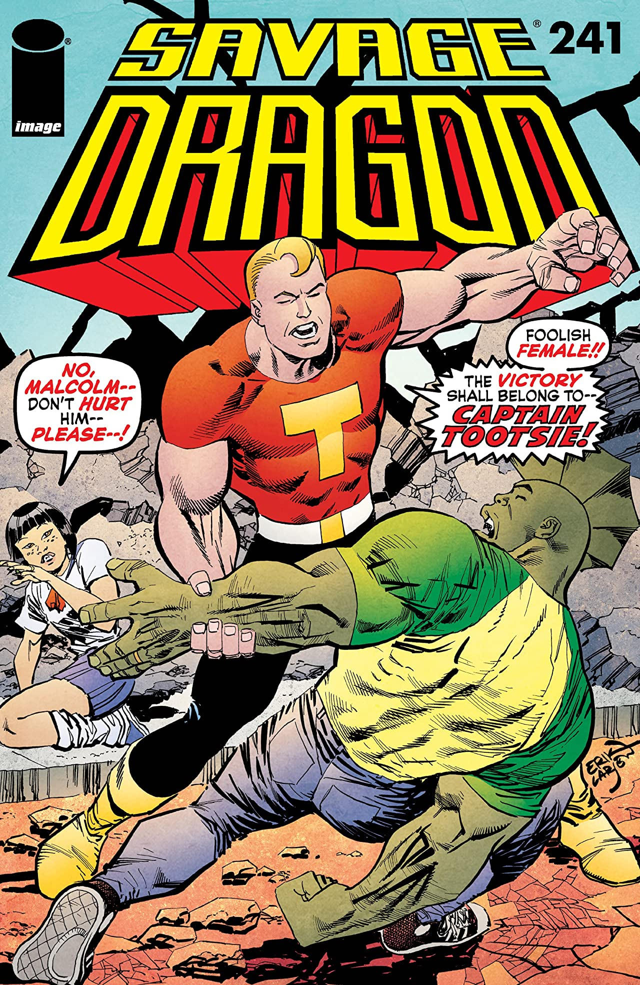 Savage Dragon No.241