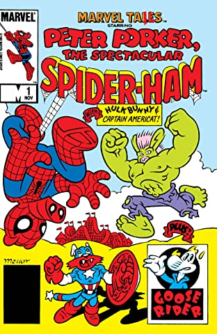 Marvel Tails Starring Peter Porker The Spectacular Spider-Ham (1983) #1