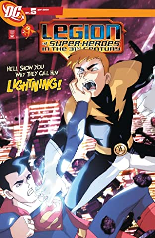 Legion of Super-Heroes in the 31st Century (2007-2009) #5
