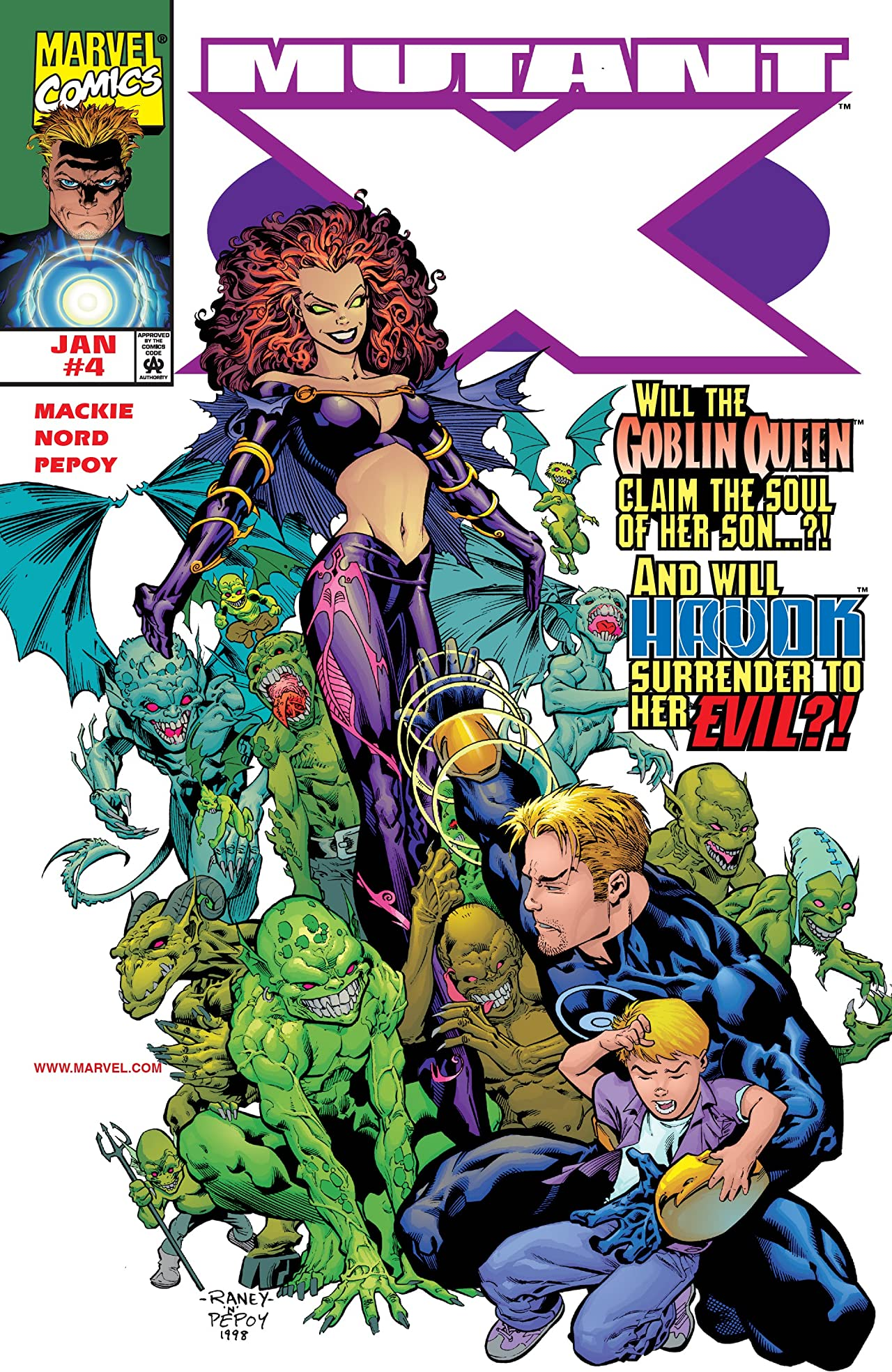 Mutant X (1998-2001) #4