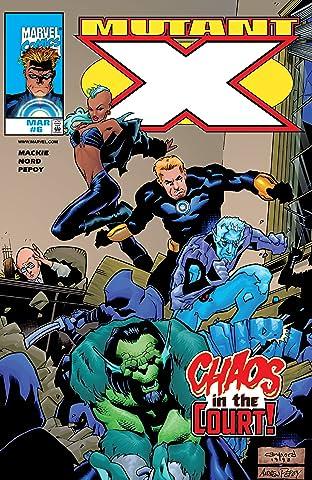 Mutant X (1998-2001) #6