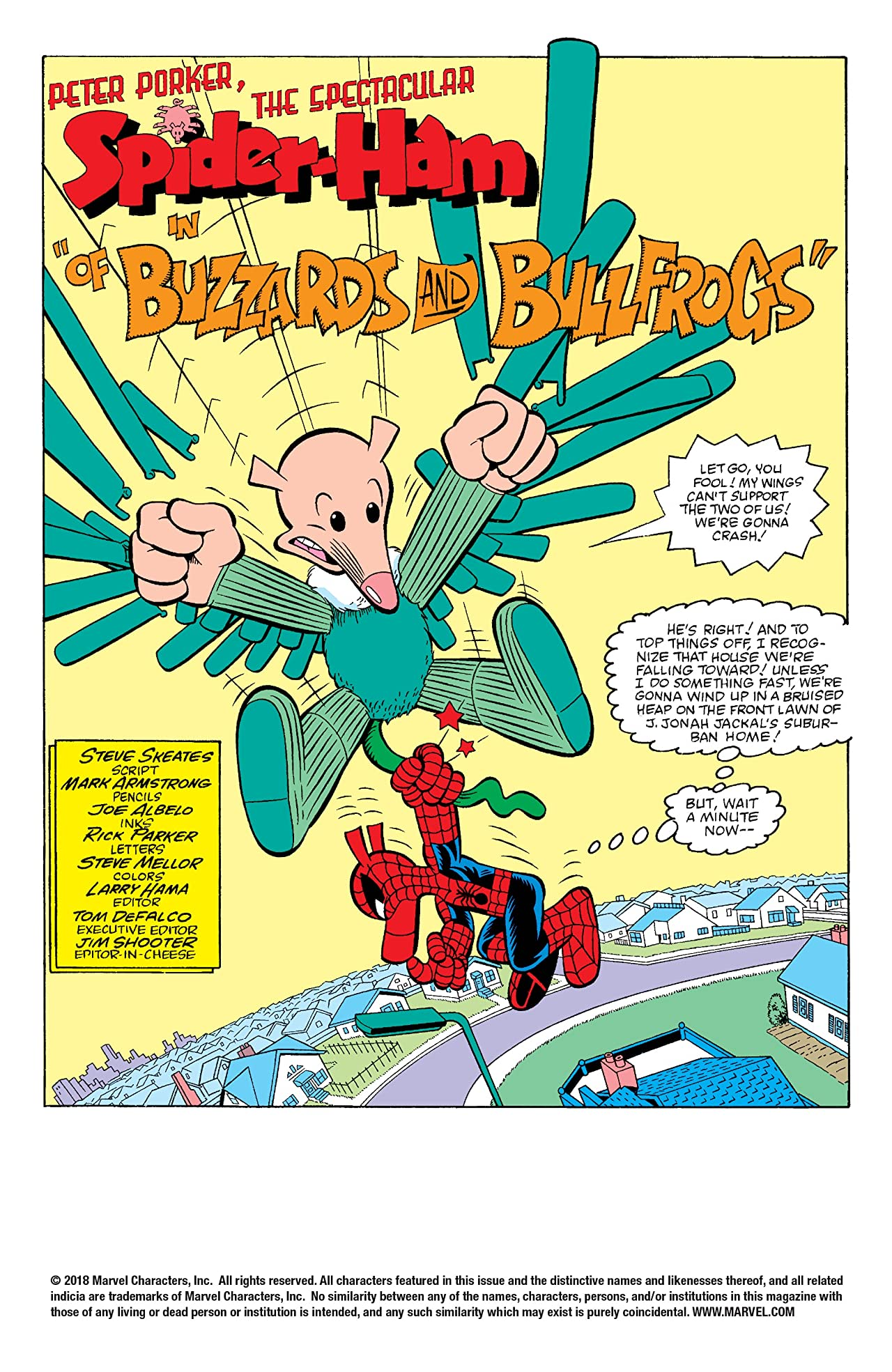 Peter Porker, The Spectacular Spider-Ham (1985-1987) #2
