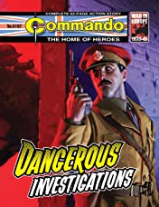 Commando #5167: Dangerous Investigations