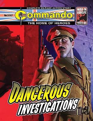 Commando #5167: Dangerous Investigations
