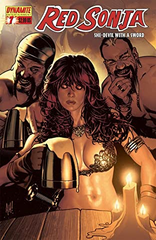 Red Sonja: She-Devil With a Sword No.7