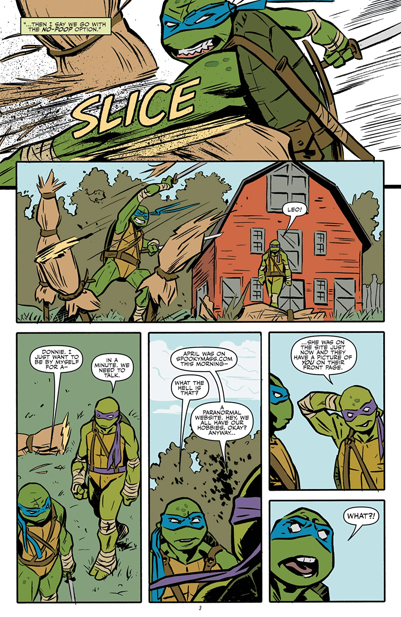 The X-Files: Conspiracy - Teenage Mutant Ninja Turtles