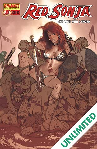 Red Sonja: She-Devil With a Sword #8
