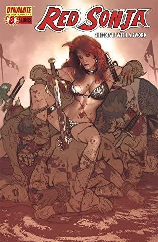 Red Sonja: She-Devil With a Sword No.8