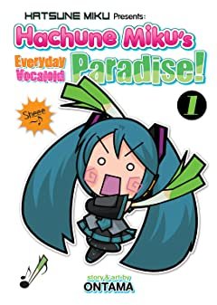 Hatsune Miku Presents: Hachune Miku's Everyday Vocaloid Paradise Tome 1
