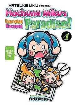Hatsune Miku Presents: Hachune Miku's Everyday Vocaloid Paradise Tome 4