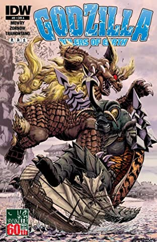 Godzilla: Rulers of Earth No.9