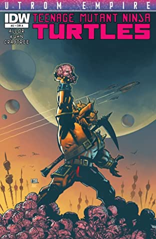 Teenage Mutant Ninja Turtles: Utrom Empire #2 (of 3)