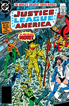 Justice League of America (1960-1987) No.229