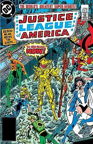 Justice League of America (1960-1987) #229