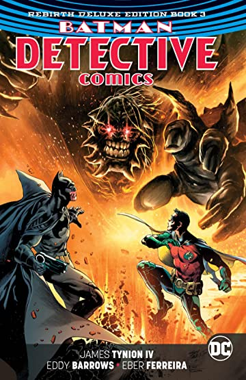 Batman - Detective Comics: The Rebirth Deluxe Edition - Book 3