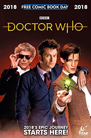 Doctor Who: Free Comic Book Day 2018