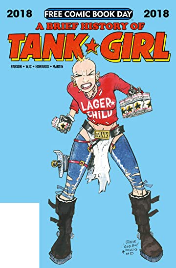 Tank Girl: Free Comic Book Day 2018