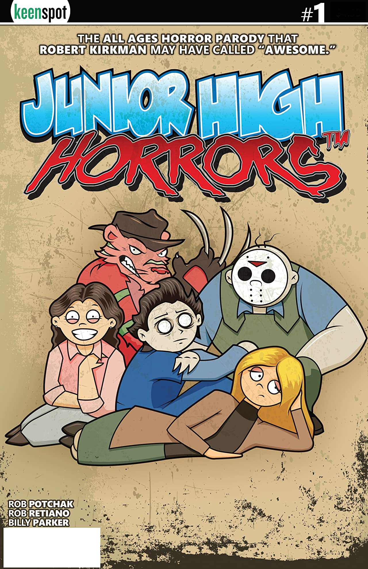 Junior High Horrors #1
