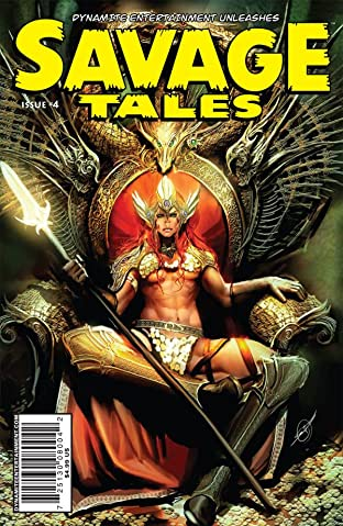 Savage Tales #4
