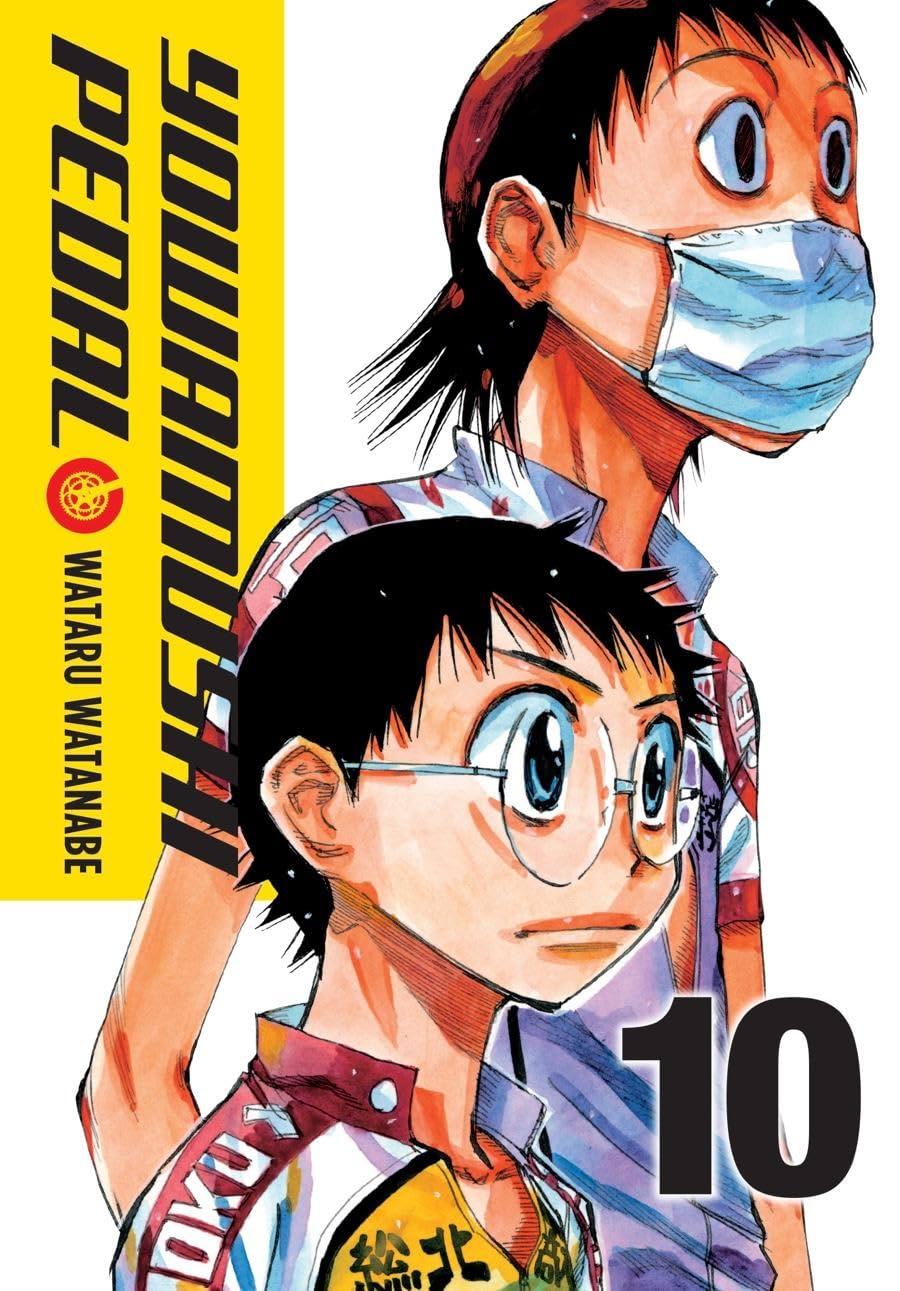 Yowamushi Pedal Vol. 10