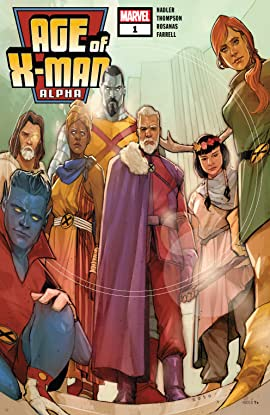 Age Of X-Man Alpha (2018) #1