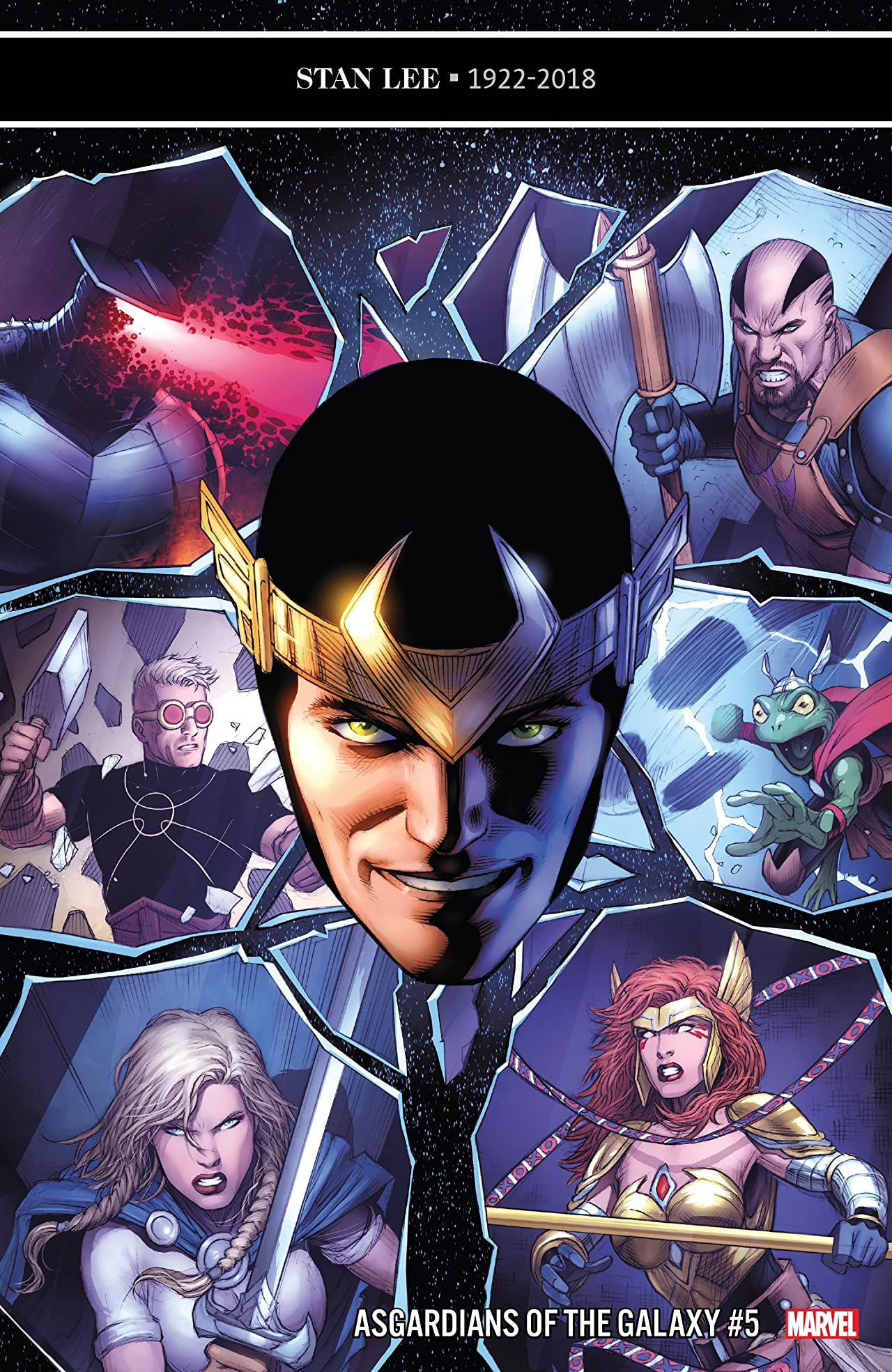 Asgardians of the Galaxy (2018-) No.5