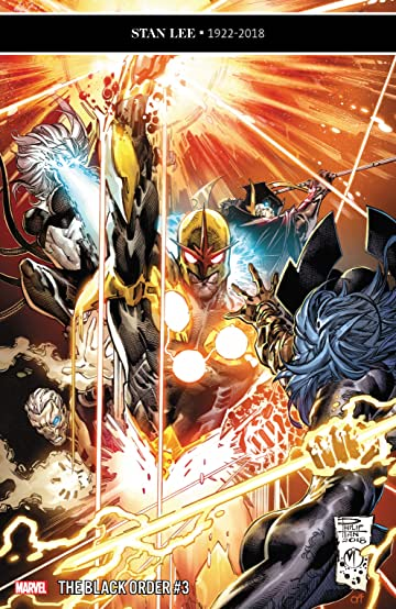 Black Order (2018-2019) No.3 (sur 5)